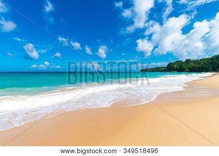 Sea Wave Beach Sunny Day Andaman Sea