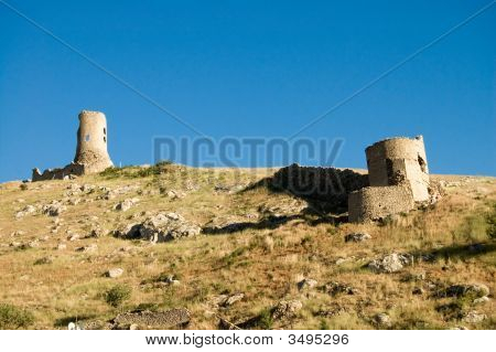 Old Fortress In Crimea