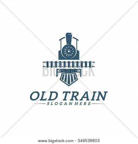 Classic Train Logo Vector Photo Free Trial Bigstock