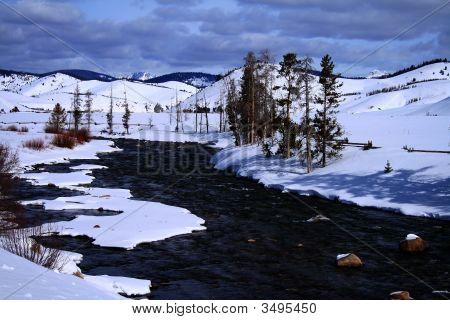 Salmon River Winter