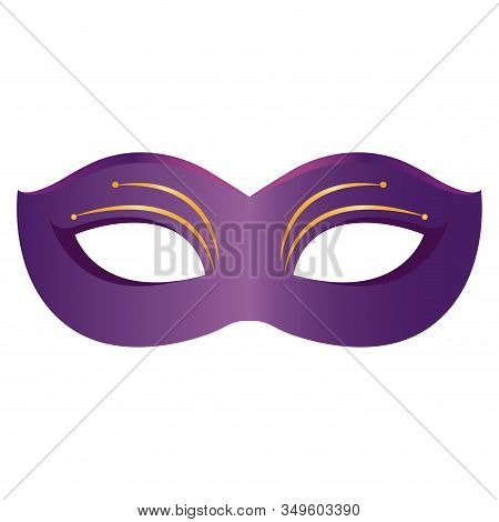 Mask For Mardi Gras. Carnival Party - Vector