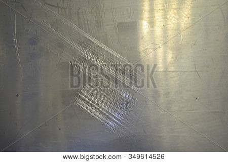 Metal Texture.silver Metal Texture.white Metal. Polished Metal Background. Silver Metal Plate. Iron