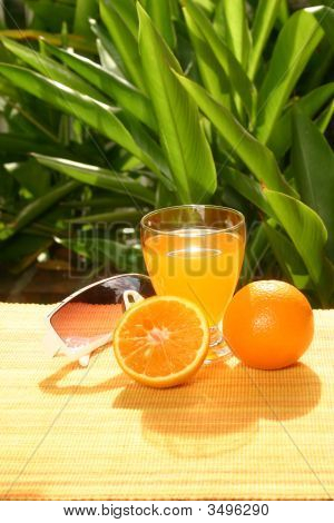 Oranges With Orange Juice