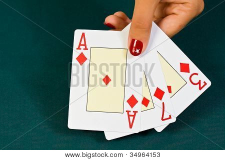 Cards In The Hand.