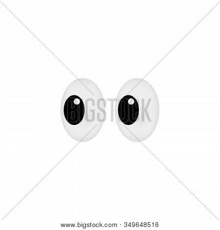 Look Icon Vector Design Or Sideways Glance