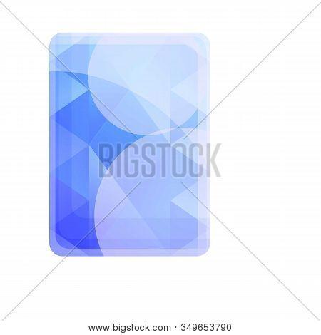 Gemstone Carat Icon. Cartoon Of Gemstone Carat Vector Icon For Web Design Isolated On White Backgrou