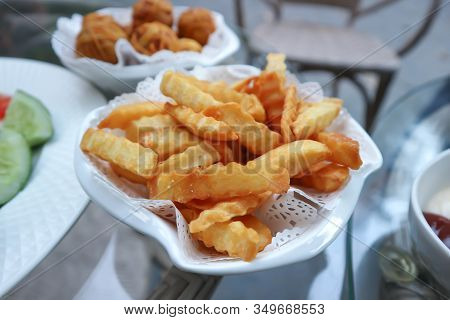 French Fries Or Fried Potato, Fries R Fried Potatoes