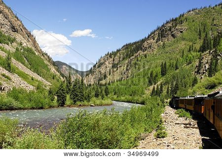 Steaming Through The San Juan Mountains