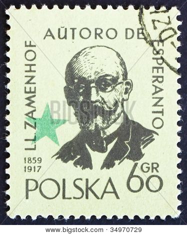 Postage stamp Poland 1959 Zamenhof, Creator of Esperanto