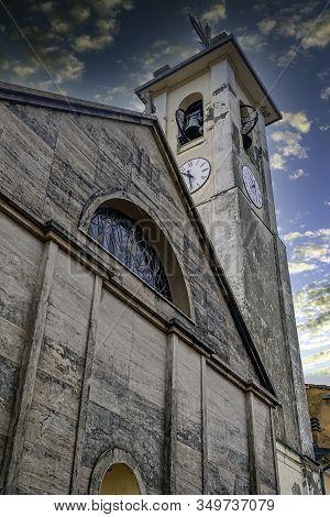 La Spezia, Cinque Terre, Liguria, Italy - September 23: Church Of St. Bartholomew (parrocchia Di San