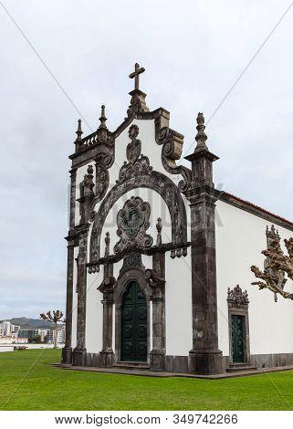 Ponta Delgada, The Azores - October 29: The Chapel Of Mae De Deus, Pictured On October 29, 2013, Is