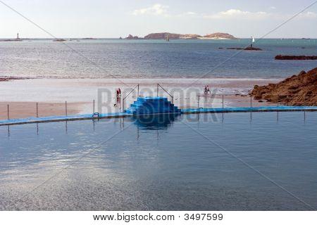 Swimming Pool In Dinard