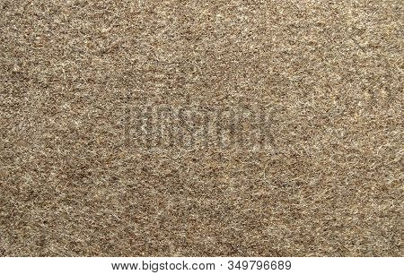 Natural Military Wool (overcoat) Brown Background. Fabric For Sewing Military Uniforms. Warm Army Or
