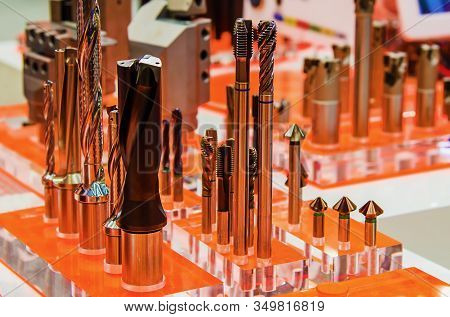 Variety Of Modern Tools For Metalworking