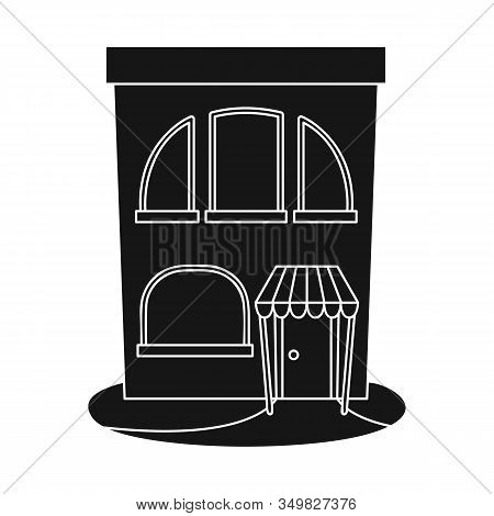 Vector Illustration Of Bookstore And Modern Logo. Collection Of Bookstore And Shop Vector Icon For S