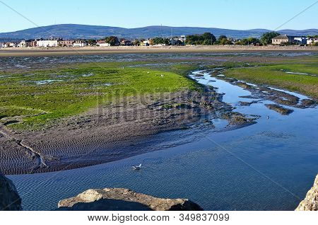 Dublin Bay In Sandymount Irishtown Nature Park