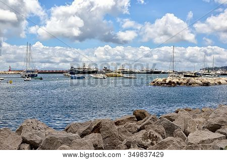 Port And Small Boats Summer Landscape Photography