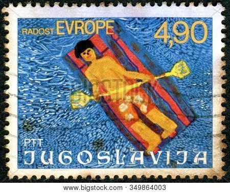 Yugoslavia - Circa 1977: A Stamp Printed In Yugoslavia, Depicted