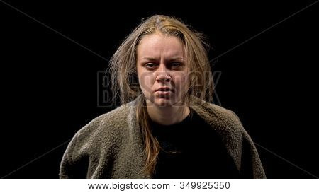 Miserable Female Feeling Hopeless, Ptsd After Sexual Abuse, Mental Disorder