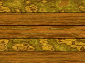 Abstract generated wooden planks for background and design poster