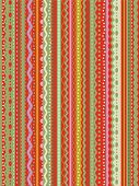 Stripes and laces tilable repeat pattern or seamless wallpaper Christmas red and green poster