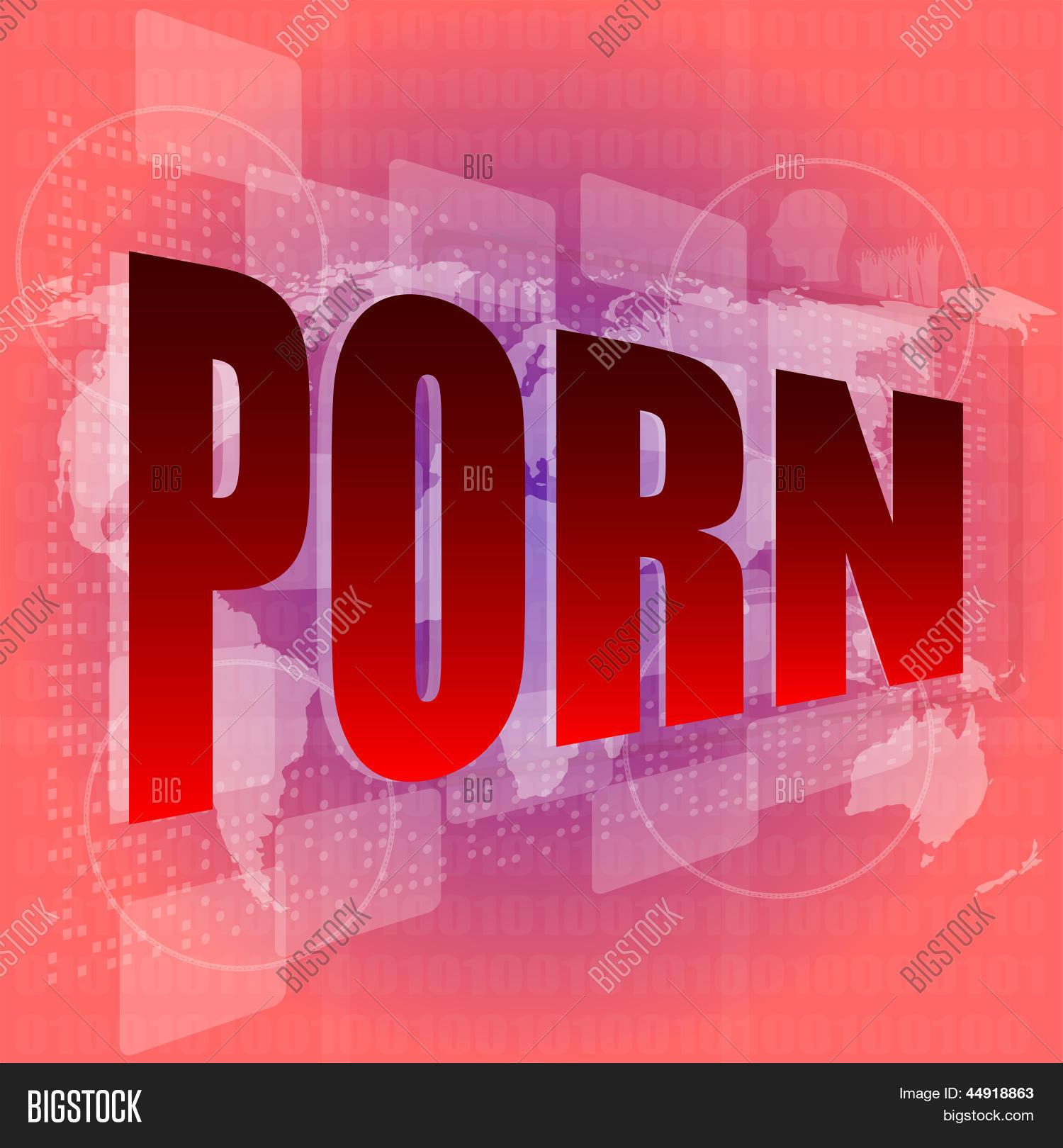 Palabras clave porno Imagen Y Foto Palabra Porno En Prueba Gratis Bigstock