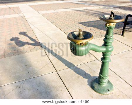 Water Fountain Shadow