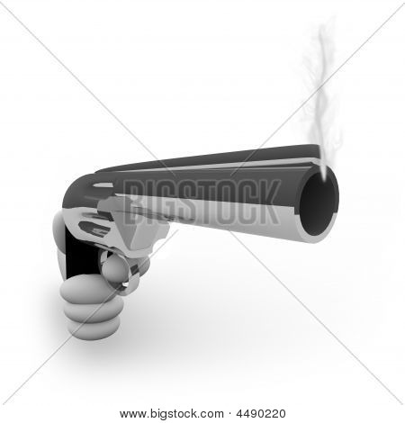 Smoking Gun - With Hand