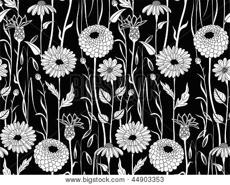 Floral seamless background