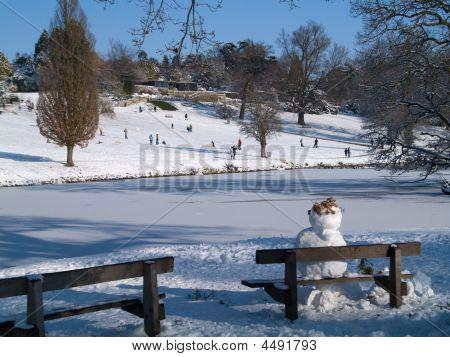 Snowman - Dunorlan Park, Tunbridge Wells