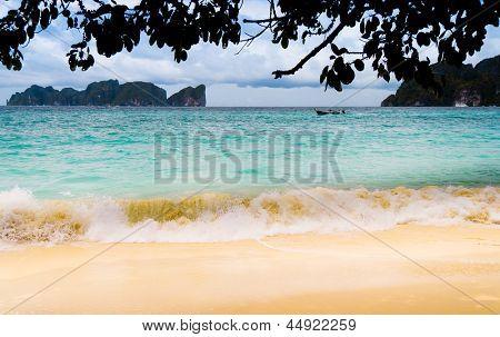 Choppy Sea Windy Holiday
