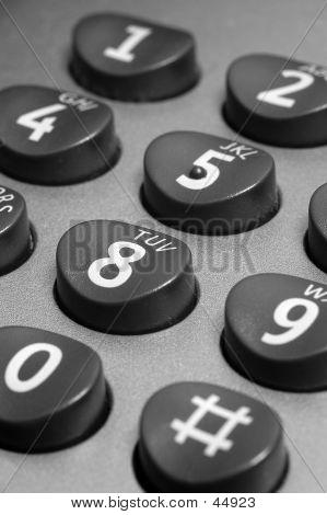 A Telephone Keypad
