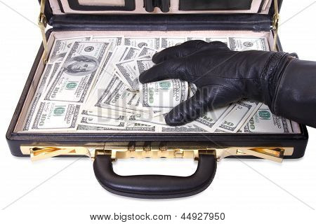 The Hand In A Glove Takes Money