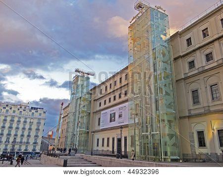 The Reina Sofia Museum. Madrid