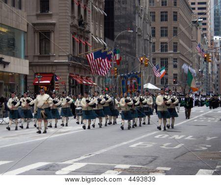 Photo Of St Patrick's Day Parade, Manhattan, New York