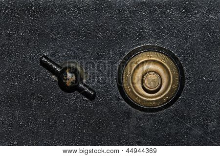 Antique Safe Background
