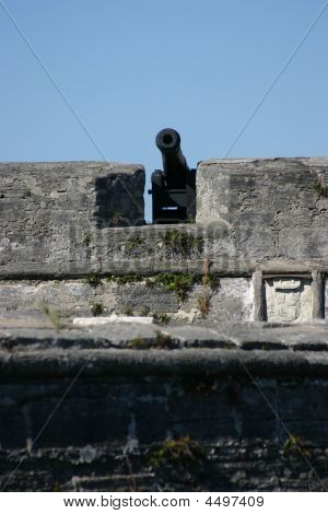 Cannon At The Old Fort
