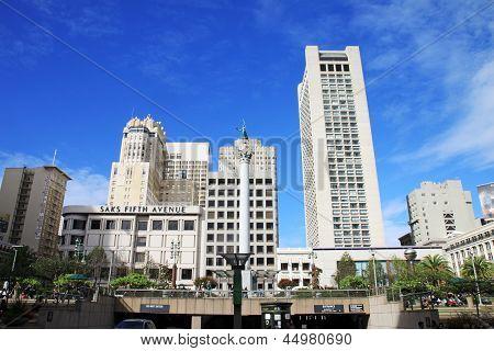 Union Square in San Francisco, California,USA