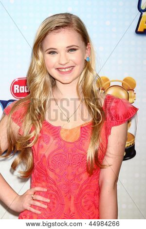 LOS ANGELES - APR 27:  Sierra McCormick arrives at the Radio Disney Music Awards 2013 at the Nokia Theater on April 27, 2013 in Los Angeles, CA