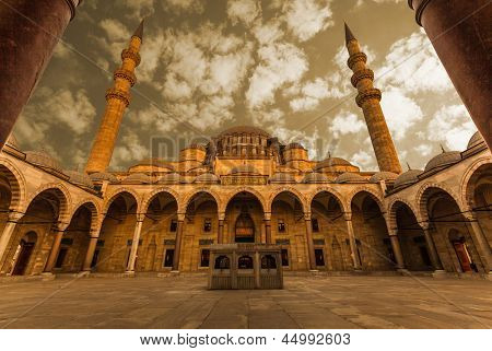 Mosque, Istanbul Turkey