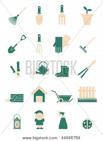 Collection Of Garderning Icons