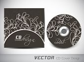 CD Cover design for your business. EPS 10. poster