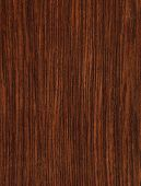 Texture of wenge (high-detailed wood texture series) poster