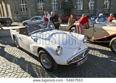 Oldtimers At The Hauptwache