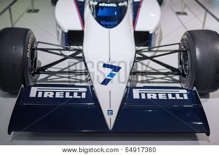 Munich -germany, June 17: Bmw F1 Sport Car On Display In Bmw Museum In June 17, 2012 In Munich