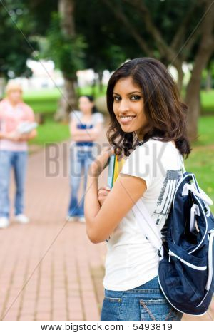 Attractive Indian Student