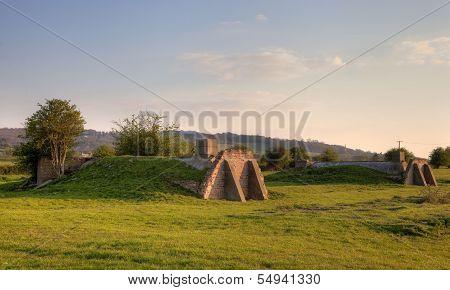 English Air-raid Shelter