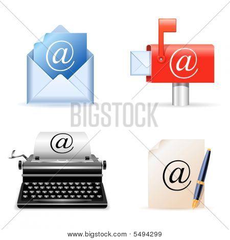 E-mail Icons.