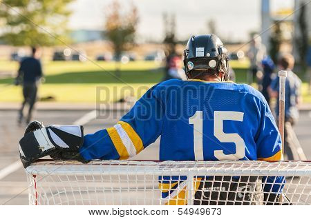 Street Hockey Goalie