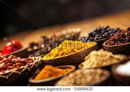 A Selection Of Spices